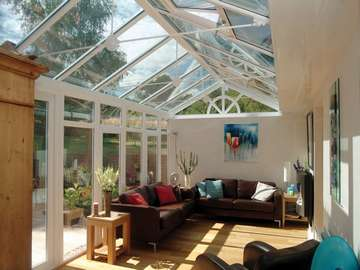 Formby . Design and build ; 2800 white PvcU windows. Triple glazed U value .95. Roof Celsius One. U value 1. l Skylights Liverpool Aluminium roof lanterns liverpool