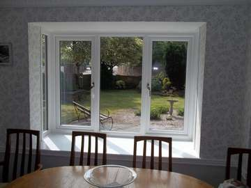 Miss M. : Sandiway,Cheshire - Installtion of our Evolution Clarity triple Glazed window U value .6 units